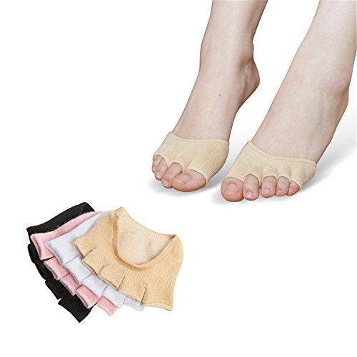BSD Fußabdeckung Yoga Socken Half Hidden Finger Rutschfeste Schweißabsorption Für Frauen  