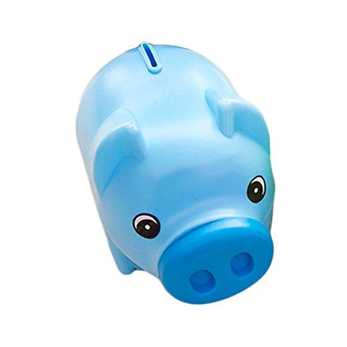JoyliveCY Cute plástico Animal Hucha Ahorro efectivo