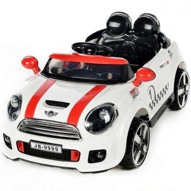 Auto elettrica coupe' rally 12v bianco
