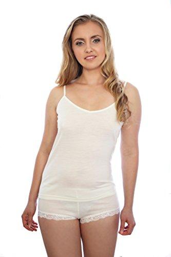 Nature's Secret Damen Unterhemd White/Pearl
