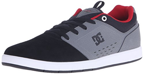 DC Cole Signature Shoe pour hommes Gris/noir/rouge