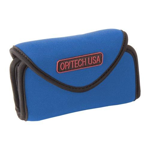 Optech USA Schutzetui für Fotoapparat / Handy, Gr. L, breit, Königsblau