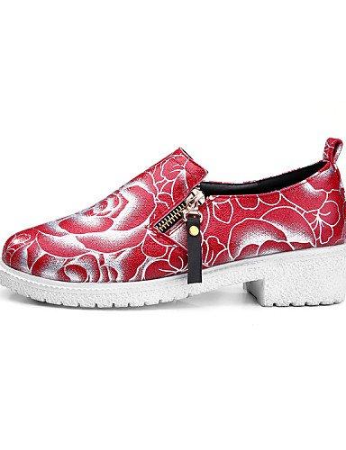 ZQ hug Scarpe Donna-Sneakers alla moda / Scarpe da ginnastica-Matrimonio / Tempo libero / Ufficio e lavoro / Formale / Casual / Sportivo / , red-us10.5 / eu42 / uk8.5 / cn43 , red-us10.5 / eu42 / uk8. red-us5 / eu35 / uk3 / cn34