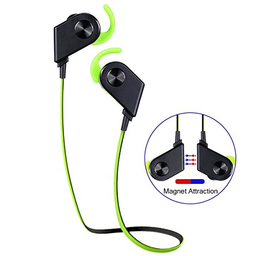 magnetic-sweatproof-wireless-bluetooth-41-earbuds-headphones-with-microphone-and-noise-cancelling-gr