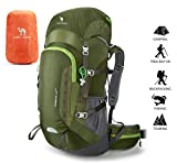 Best Camel Pack Backpack Women - CAMEL CROWN Rucksack 45L Hiking Backpack Waterproof Travel Review