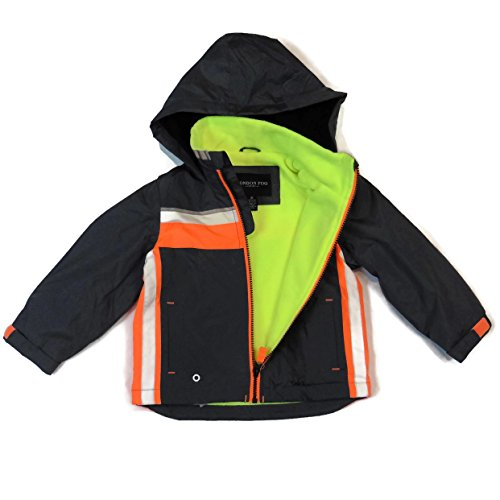 london-fog-boys-lightweight-jacket-dark-grey-orange-size-7