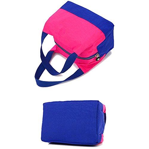 TININNA Tela Colorato Pranzo al sacco Tote Bag pranzo Organizer Holder pranzo pranzo borsa per le donne Ragazze 008 #7