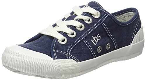 TBS Damen Opiace S7 Derby, Weiß Blau (Perse)