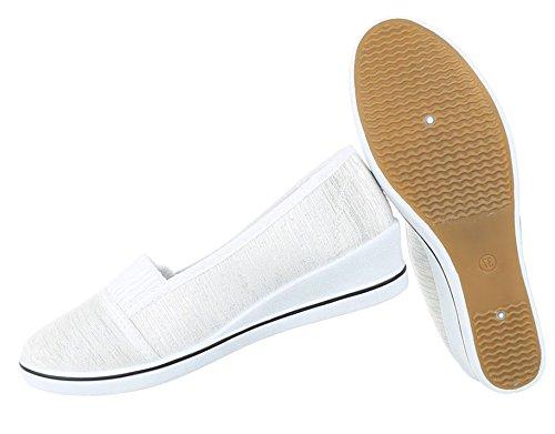 Mokassins Weiß 37 39 38 Beige Schwarz 36 Slipper Flats 41 Loafer Damen Schuhe Slip On Ballerinas Halbschuhe 40 vqOZRI6pP