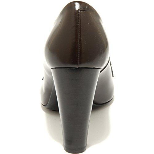 decollete TOD'S scarpa donna shoes women 49211 Marrone