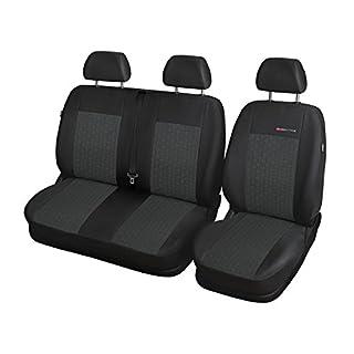 Elegance (E1) (maßgeschneidert) - Autoschonbezug-Set (3-Sitzer) - 5902311269129