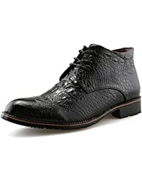 Jiuyue-shoes, Sommer 2018 Herren Casual High Tip Martin Stiefel mit Mode  und Baumwolle warme Stil Business Oxford… a8eb5f8635