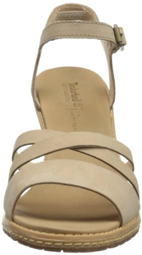Timberland, EK Maeslin Ankle Strap, Scarpe col tacco, Donna Light Tan