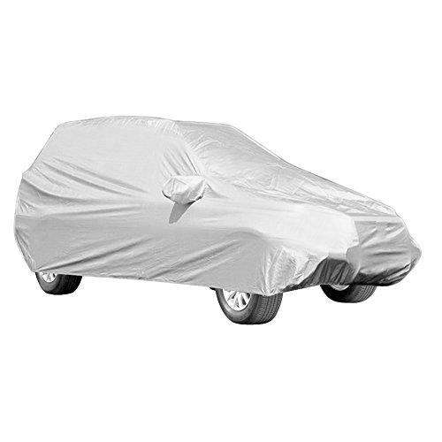 Copriauto Telo per Auto Completa, Impermeabile Pieghevole Copertura Auto Universale Robusto Durevole Anti UV Anti Pioggia Sole Ghiaccio Applicabile ai Veicoli Fuoristrada SUV 5.2 * 2 * 1.8M
