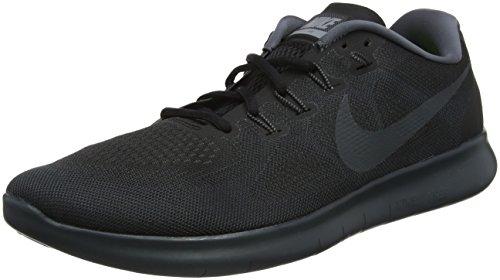 Nike Herren Free RN 2017 Laufschuhe, Schwarz (Black/anthracite-dark Grey/003), 39 EU