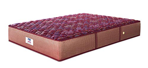 Peps Springkoil Bonnell 6-inch Single Size Spring Mattress (Maroon, 72x36x06)...