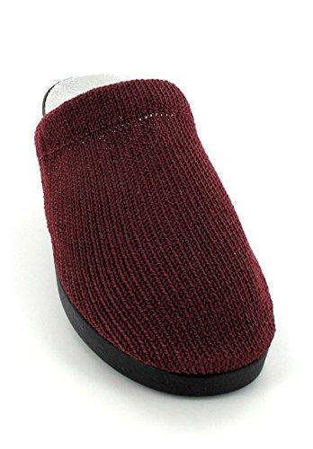 Codeor-Sabots en nylon pour femme Rouge - rojo - borgoña