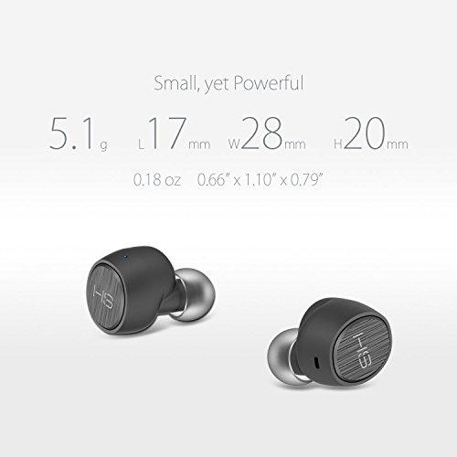 Bluetooth Kopfhörer in-ear True Wireless Ear Pods Bluetooth Headset Kabellose Kopfhörer mit Mikrofon Noise Cancellation Ladeetui Sweatproof für iPhone Smartphones Tablets Laptop AirBeansX by HomeSpot - 2