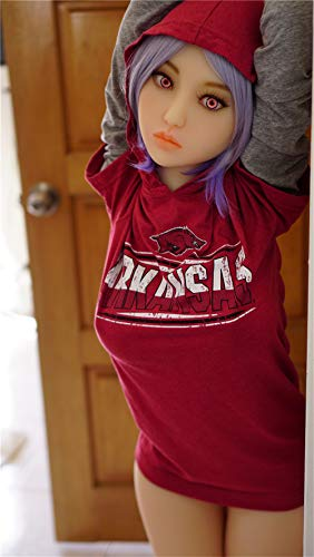 AFYH Real Girl Erwachsene Puppen Neu! Aufblasbare Puppe aus Silikon, männlicher Begleiter - Sexpuppe - Girly Channel - Soundeffekt - Wasserinjektionsbrust - 3D Augapfel - 3 kg (1,65 cm) Mädchen.