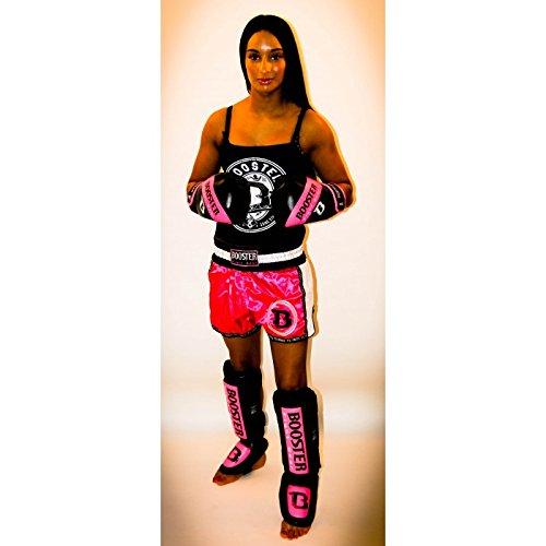 Booster Boxhandschuhe, BT-Sparring, weiß, Boxing Gloves, MMA Muay Thai Kickboxen Size 10 Oz