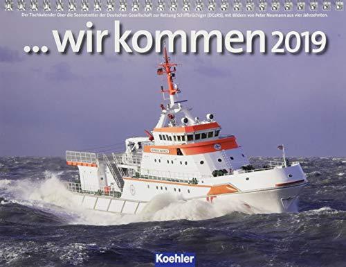 ...wir kommen 2019 - Postkartenkalender