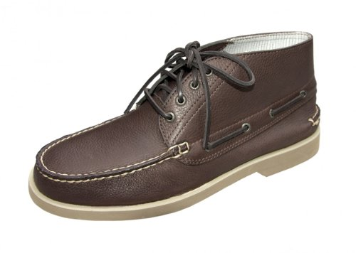 Sperry Top-Sider Herren Leder Bootsschuh Men's Chukka dunkelbraun, Größe:41.5 EU (Sperry Chukka Stiefel Herren)