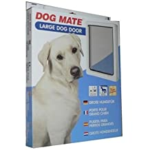 (6 Pack) Petmate - Dog Door - Up to 25 Inch Shoulder High(Large) White