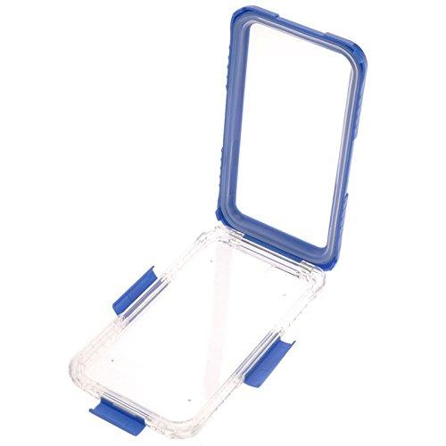 wkae Schutzhülle Case & Cover für iPhone 6Plus & 6splus IP68wasserdichte Schutzhülle mit Trageband blau