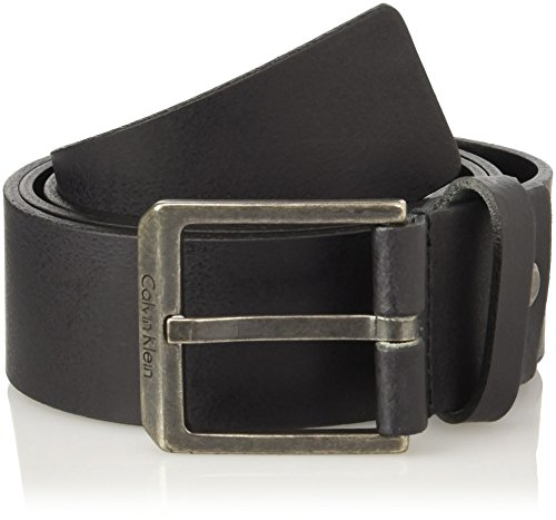 Calvin Klein Edge Adjustable, Ceinture Homme Nero (001)