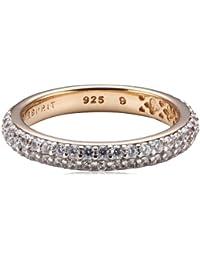 Esprit Jewels Damen-Ring 925 Sterling Silber Elegance rose ESRG91667G1