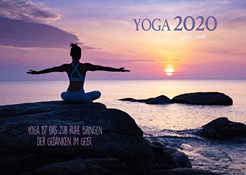 Edition Seidel Yoga Premium Kalender 2020 DIN A3 Wandkalender Sprüche Meditation Entspannung Achtsamkeit Gesundheit