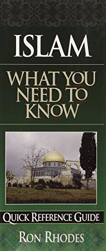 Islam: What You Need to Know (Quick Reference Guides) by Ron Rhodes (1-Jan-2000) Pamphlet