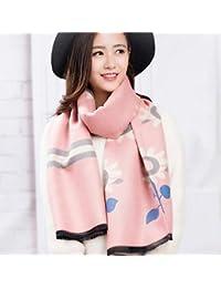 Taotao Tao Bufanda de Invierno Versión Coreana de Las Mujeres de la Cachemira Salvaje Engrosamiento Salvaje