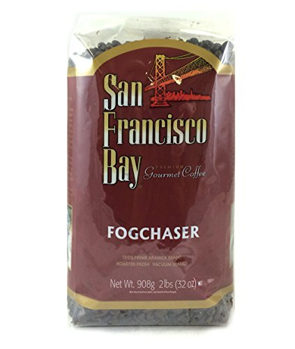 San Franscisco Bay Coffee Fog Chaser Whole Bean, 2-pounds by San Francisco Bay Coffee