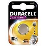 DURACELL DL1616 3V Lithium Knopfzellenbatterie 1er Pack