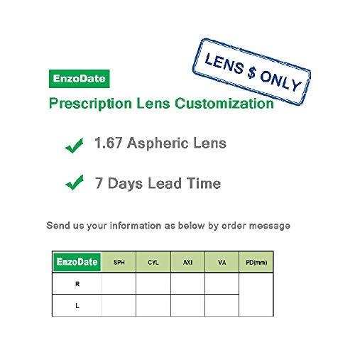 EnzoDate EnzoDate Rx Lens Customization (nur Objektivpreis)