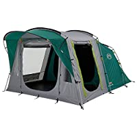 Coleman Tent Oak Canyon 4, 4 Person Family Tent with BlackOut Bedroom Technology, 4 Man Camping Tent with 2 Extra Dark Sleeping Cabins, 100 Percent Waterproof, Easy to Pitch 9