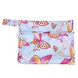 SUPVOX Asciugamano Sanitario Custodia con cerniera portatile tovagliolo sanitario organizzatore sacchetto viaggio mestruale borsa per donna