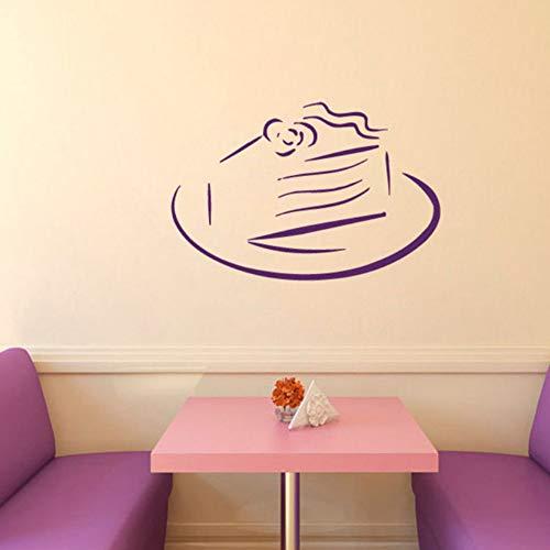 Yzybz Süße Kuchen Geburtstag Pie Wandaufkleber Küche Cafe Home Interior Design Vinyl Aufkleber Aufkleber Kinder Baby Room Decor Wandtattoos