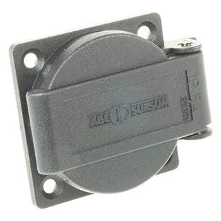 ABL Sursum 1 Gang Electrical Socket, Type G - British, 13A, Panel Mount, IP54