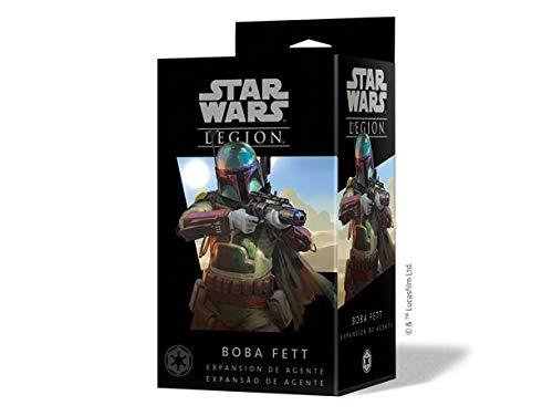 Fantasy Flight Games- Star Wars Legion: Boba Fett - Español, Color (FFSWL18)