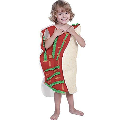 SHANGLY Halloween Kostüme Mexikanische Rolle Süßes Essen Weihnachten Cosplay Kostüm Kinder Kind Karnevalsfeier (Mexikanische Lichter Weihnachten)