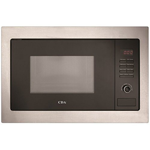 41MxUtQAfGL. SS500  - CDA VM230SS Built in Microwave Oven & Grill in Stainless Steel & Black
