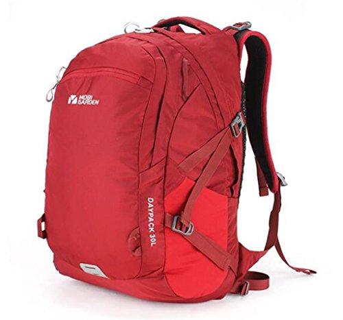 Outdoor-Klettern Wandern Camping Rucksack Tasche Männer und Frauen Rucksack Rot