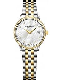 Raymond Weil Toccata Reloj de mujer diamante cuarzo 29mm 5988-SPS-97081