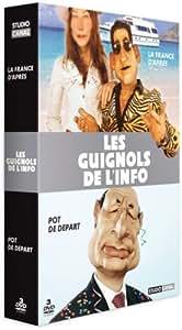 Coffret Les Guignols de l'info : best of 2006-2007 / best of 2007-2008