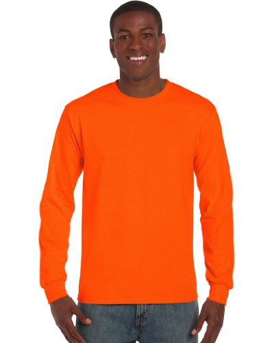 Safety Green und Safety Orange entsprechen den ANSI / ISEA 107 High Visibility Standards | Doppelnähte an Kragen und Bund | Durchgehendes Schulterband | Durch eine Vierteldrehung des Schlauchs bei der Verarbeitung wird eine Mittelfalte im Shirt vermi...