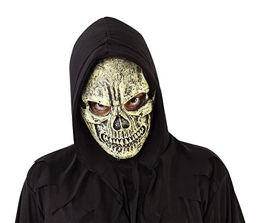 Haunted House- Esqueleto Máscara Calavera Siniestra (Rubies...