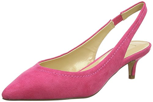 Lotus Damen Misty Slingback Pumps, Purple (Fuchsia Microfibre), 42 EU
