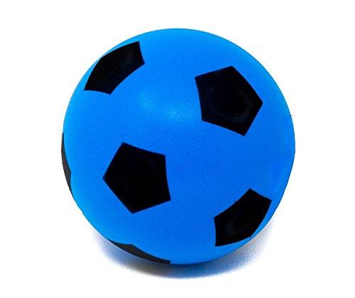 E-Deals Calcio in Schiuma Morbida, 17.5cm-Blu